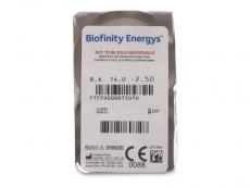 Biofinity Energys (6 šošoviek)