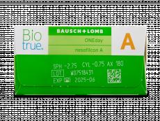 Biotrue ONEday for Astigmatism (90 šošoviek)