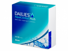 Dailies AquaComfort Plus (180 šošoviek)