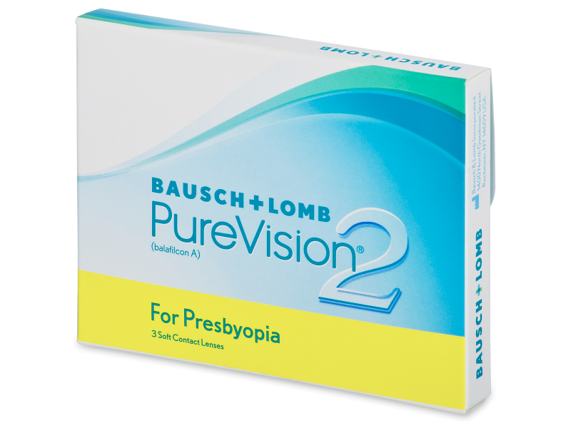 PureVision 2 for Presbyopia (3 šošovky)
