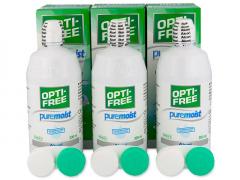 Roztok OPTI-FREE PureMoist 3x300ml
