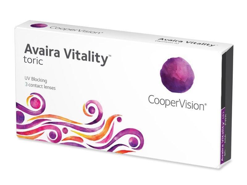 Avaira Vitality Toric (3 šošovky)