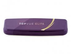 Pevné puzdro na jednodňové šošovky TopVue Elite