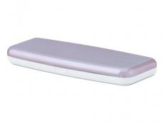 Pevné puzdro na jednodňové šošovky - ružové