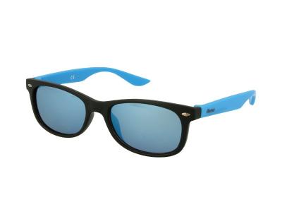 Detské slnečné okuliare Alensa Sport Black Blue Mirror