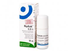 Očné kvapky Hyabak 10 ml