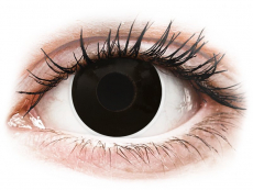 ColourVUE Crazy Lens - BlackOut - nedioptrické (2 šošovky)