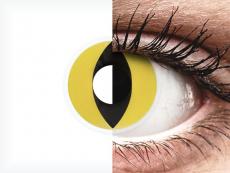 ColourVUE Crazy Lens - Cat Eye - nedioptrické (2 šošovky)