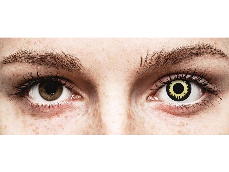 ColourVUE Crazy Lens - Eclipse - nedioptrické (2 šošovky)