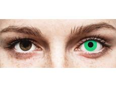 ColourVUE Crazy Lens - Emerald (Green) - nedioptrické (2 šošovky)