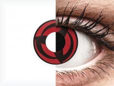 ColourVUE Crazy Lens - Kakashi - nedioptrické (2 šošovky)