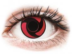 ColourVUE Crazy Lens - Mangekyu - nedioptrické (2 šošovky)