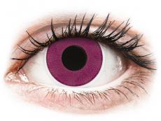 ColourVUE Crazy Lens - Purple - nedioptrické (2 šošovky)