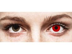 ColourVUE Crazy Lens - Red Devil - nedioptrické (2 šošovky)