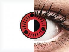 ColourVUE Crazy Lens - Sasuke - nedioptrické (2 šošovky)