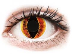 ColourVUE Crazy Lens - Saurons Eye - nedioptrické (2 šošovky)