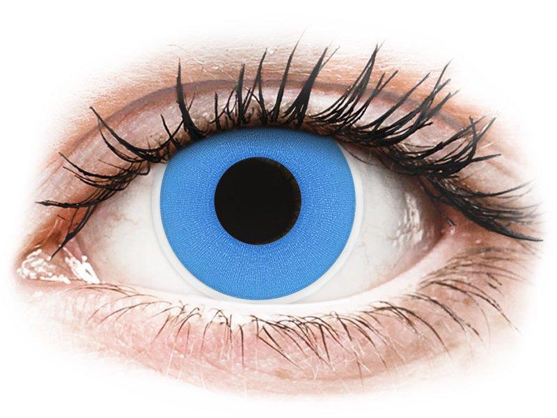 ColourVUE Crazy Lens - Sky Blue - nedioptrické (2 šošovky)