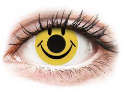 ColourVUE Crazy Lens - Smiley - nedioptrické (2 šošovky)