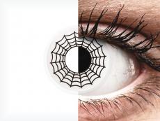 ColourVUE Crazy Lens - Spider - nedioptrické (2 šošovky)