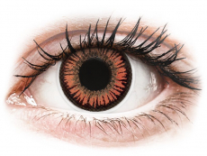 ColourVUE Crazy Lens - Vampire - nedioptrické (2 šošovky)