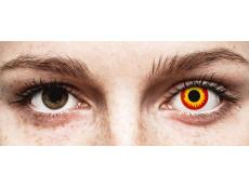 ColourVUE Crazy Lens - Wildfire - nedioptrické (2 šošovky)