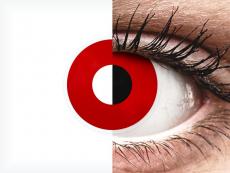 ColourVUE Crazy Lens - Red Devil - dioptrické (2šošovky)