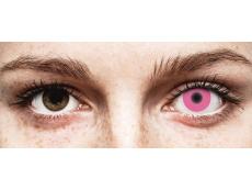 ColourVUE Crazy Glow Pink - nedioptrické (2 šošovky)