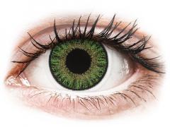 TopVue Color - Green - dioptrické denné (10šošoviek)