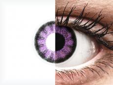 ColourVUE BigEyes Ultra Violet - nedioptrické (2šošovky)
