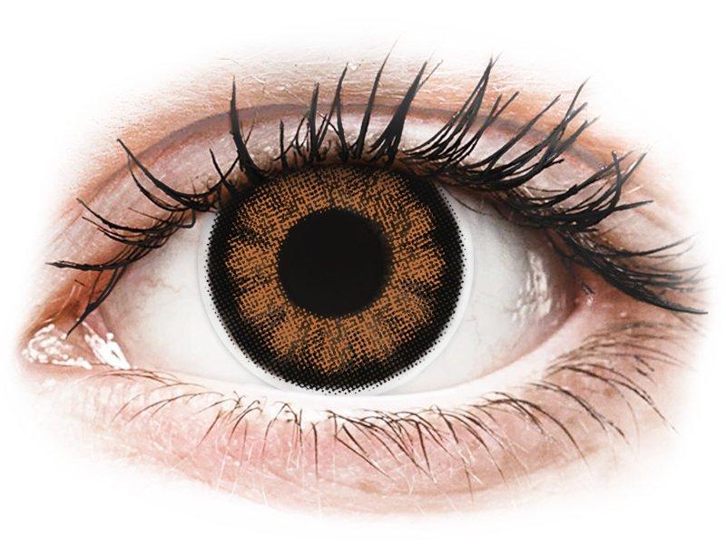 ColourVUE BigEyes Sexy Brown - nedioptrické (2šošovky)