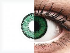 SofLens Natural Colors Emerald - dioptrické (2 šošovky)