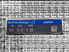 Biofinity Energys (3 šošovky)