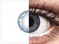FreshLook ColorBlends True Sapphire - dioptrické (2 šošovky)