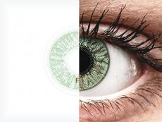 FreshLook Colors Green - dioptrické (2 šošovky)