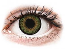 FreshLook One Day Color Green - dioptrické (10 šošoviek)