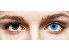 ColourVUE Crazy Lens - Sky Blue - jednodenné nedioptrické (2 šošovky)