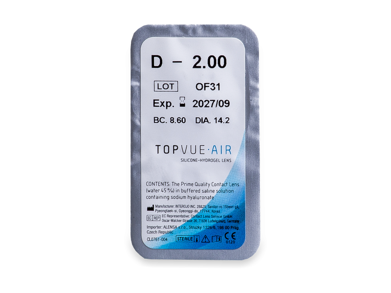TopVue Air (6 šošoviek)