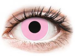 ColourVUE Crazy Lens - Barbie Pink - nedioptrické (2 šošovky)