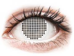 ColourVUE Crazy Lens - White Screen - nedioptrické (2 šošovky)