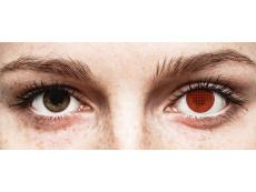 ColourVUE Crazy Lens - Red Screen - nedioptrické (2 šošovky)