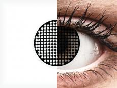 ColourVUE Crazy Lens - Black Screen - nedioptrické (2 šošovky)