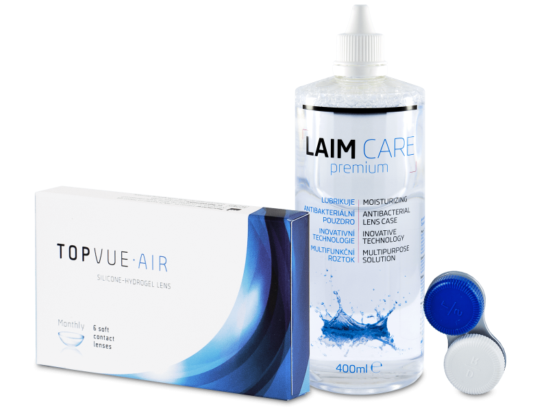 TopVue Air (6 šošoviek) + LAIM-CARE 400 ml