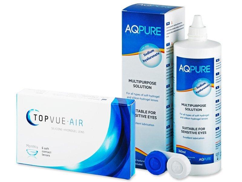 TopVue Air (6 šošoviek) +AQPure360ml