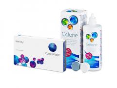 Biofinity (3 šošovky) + roztok Gelone 360 ml
