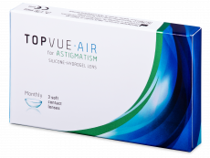 TopVue Air for Astigmatism (3 šošovky)
