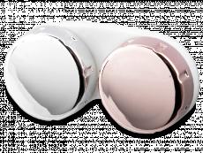 Zrkadlové puzdro na šošovky – ružové