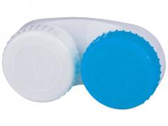 Puzdro na šošovky modro-biele L+R