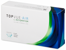 TopVue Air for Astigmatism (6 šošoviek)