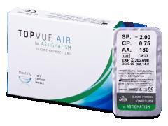 TopVue Air for Astigmatism (1 šošovka)