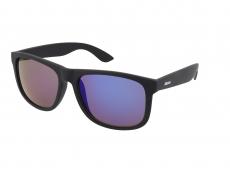 Slnečné okuliare Alensa Sport All Black Blue Mirror